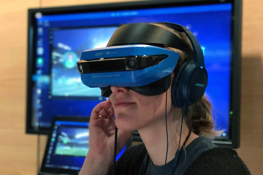 acer-windows vr mixed reality headset