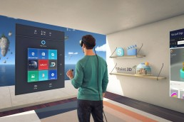 windows mixed reality interface