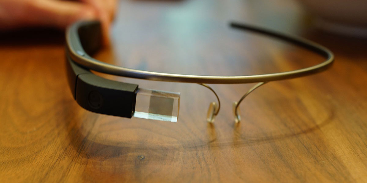 google glass on table
