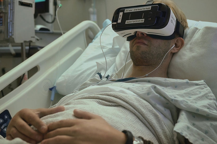 patient with vr